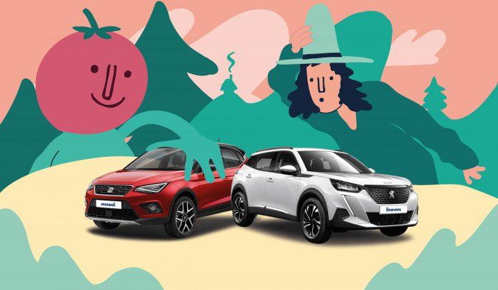 Conducir en otoño también es divertido si eliges el coche adecuado